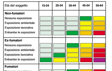 Carta del rischio di Broncopneumopatia Cronica Ostruttiva (BPCO)