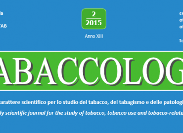 """Numero speciale di """"Tabaccologia"""":  La Citisina nel trattamento del tabagismo"""